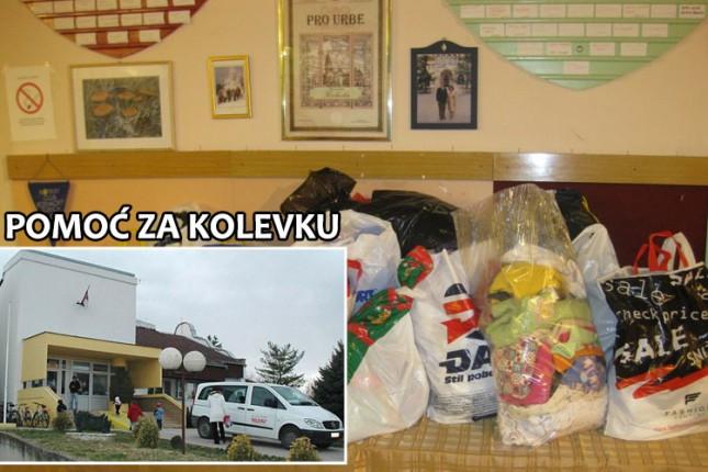 """Akcija prikupljanja polovne garderobe za """"Kolevku"""" u MZ """"Bajnat"""""""