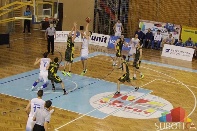 Košarkaši Spartaka savladali Vojvodinu u Novom Sadu (70:80)