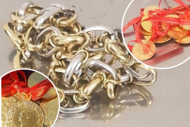 Zaplenjeni dukati i zlato na Horgošu