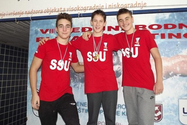 Uspešan vikend plivača Spartaka na Kupu Kikinde i Otvorenom prvenstvu Mađarske