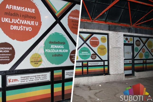 Omladinski centar na autobuskoj stanici