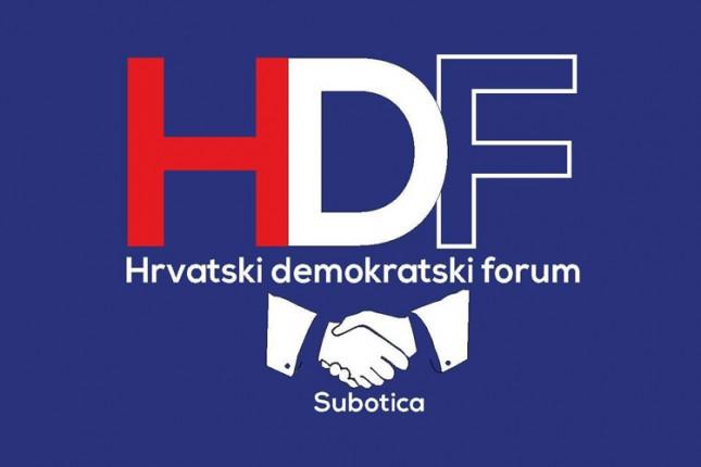 Hrvatski demokratski forum prikuplja potpise za lokalnu izbornu listu