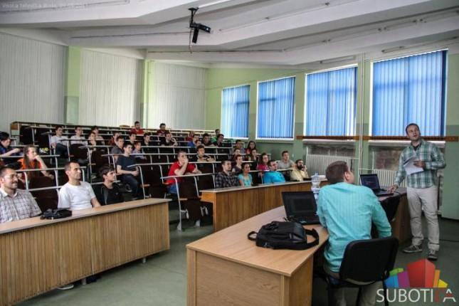 Infostud održao predavanje studentima Visoke tehničke škole strukovnih studija