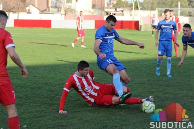 Fudbal: Bačka 1901 i Hajduk iz Kule remizirali