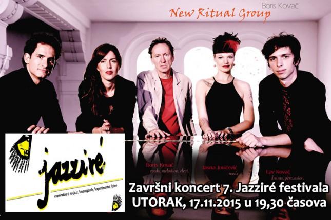 Večerašnjim koncertom završava se 7. Jazziré festival