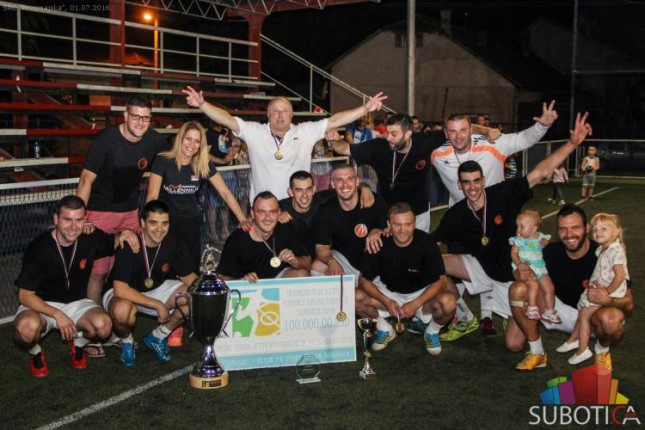 "SK ""Milenijum"" pobednik 5. Letnjeg turnira u malom fudbalu"