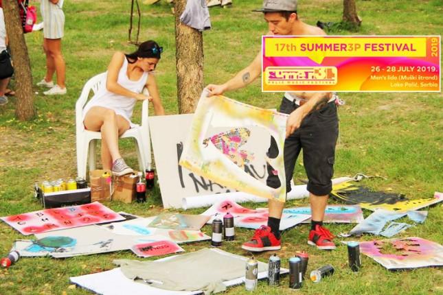 Sport, rekreacija, umetnost i kreativne radionice prateći program 17. Summer3p festivala