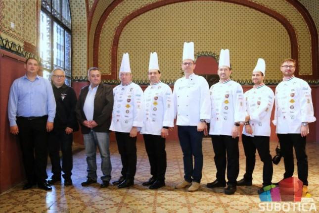 Čaba Paško na Svetskom takmičenju u kulinarstvu
