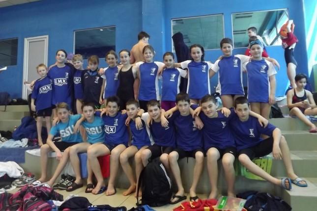 Sedam medalja plivača Spartaka na Uskršnjem mitingu u Novom Sadu