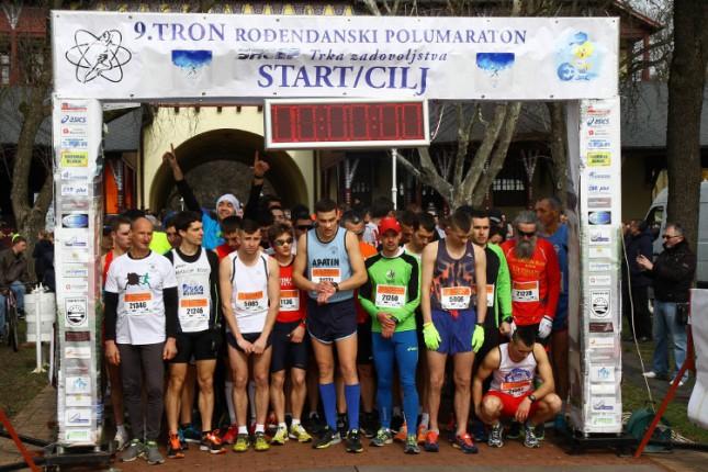 Rekordan broj učesnika na 9. TRON polumaratonu i trci zadovoljstva