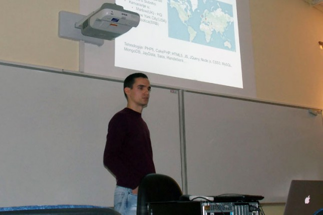 Na VTŠ održano predavanje na temu razvoja aplikacija za mobilne platforme upotrebom web tehnologija