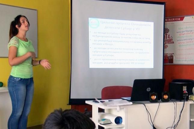 Održana prezentacija konkursa za omladinske delegate u Ujedinjenim nacijama