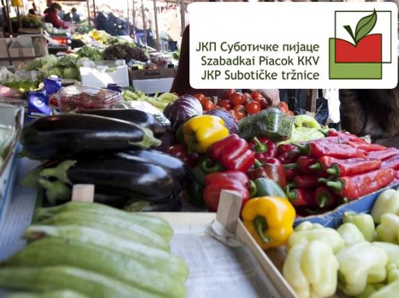 Cene na subotičkim pijacama (10.08.)