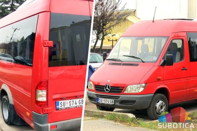 """Mini bus kao donacija za """"Kolevku"""""""