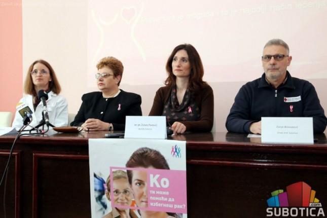 Najava obeležavanja Nacionalnog dana borbe protiv raka dojke