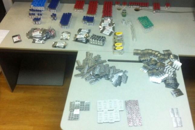 Carinici na Kelebiji sprečili krijumčarenje velike količina anabolika i steroida