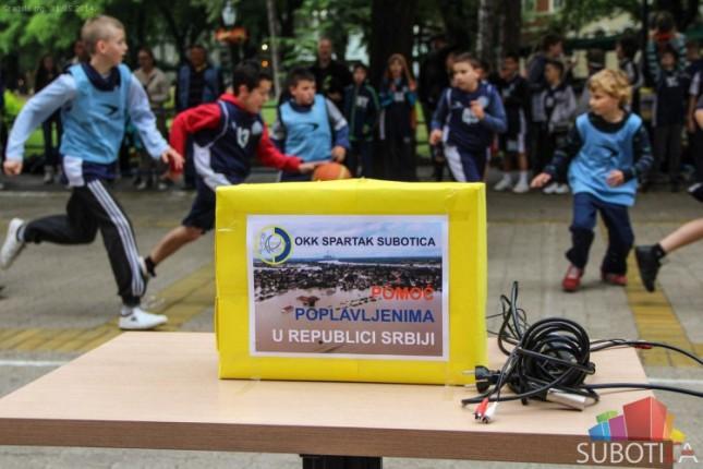 Održan humanitarni turnir mladih košarkaša Spartaka