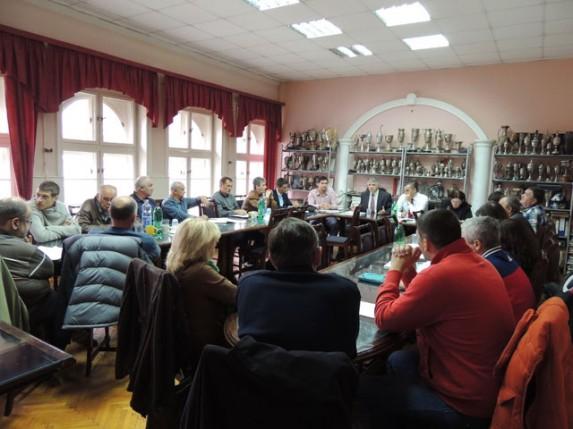 Potpisivanje deklaracije o udruživanju sportskih klubova sa teritorije Subotice
