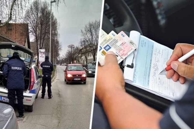 Sankcionisano 500 vozača, čak 37 isključeno iz saobraćaja