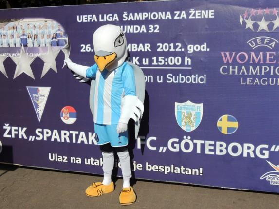 Subotica pozdravila šampionke
