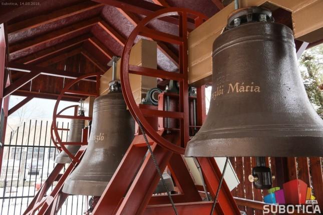Zvona crkve Isusa Radnika pričaju posebnu priču