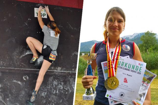 """Sportsko penjanje: Veliki uspeh Nore Bognar na """"Trofeju Pecena"""" u Austriji"""