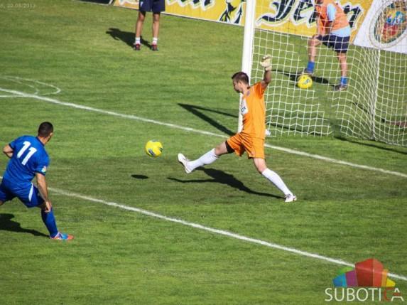 Poraz fudbalera za oproštaj od domaćeg terena