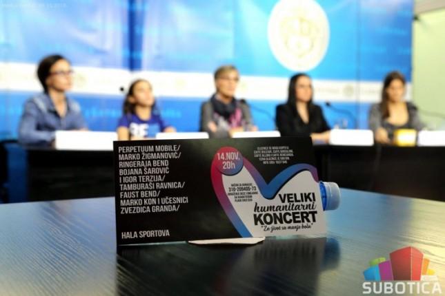 Veliki humanitarni koncert za decu obolelu od dijabetesa