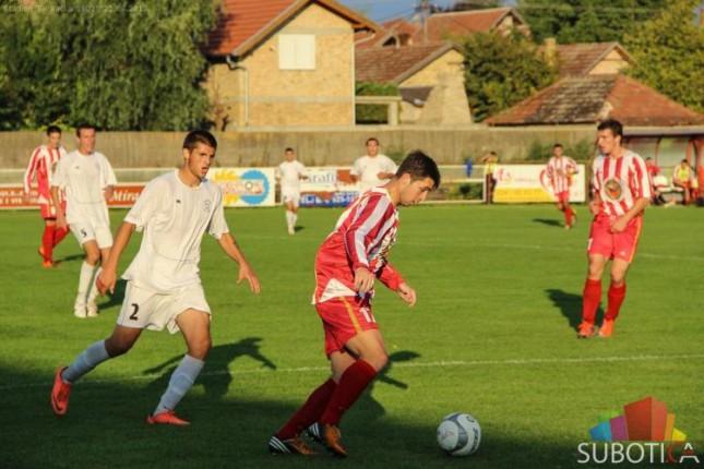 Fudbaleri Bačke 1901 igrali nerešeno protiv ČSK pivare (1:1)