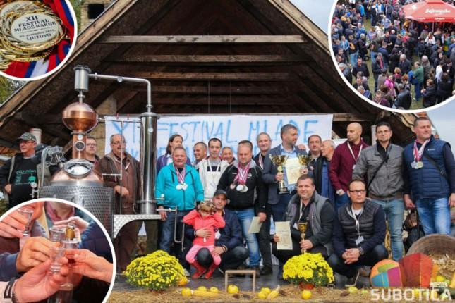 XII Festival mlade rakije u Ljutovu oborio rekorde