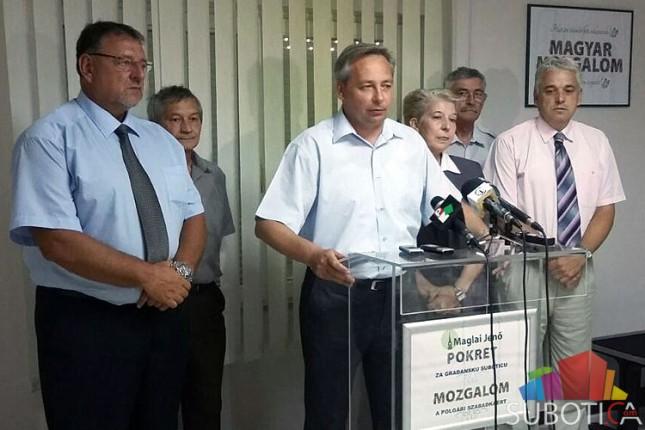 Pokret za građansku Suboticu kritikuje novo rukovodstvo grada