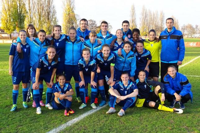 Fudbalerke Spartaka bez poraza završile jesenji deo prvenstva