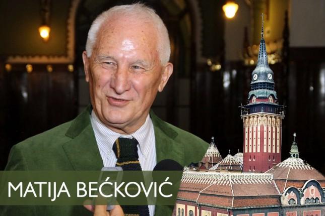Matija Bećković predložen za počasnog građanina Subotice