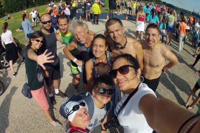 "Takmičari ARK ""Tron"" učestvovali na 3. Aquarius triatlonu u Dunaujvarošu"