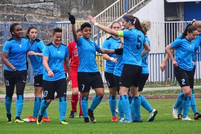 Fudbal (Ž): Ubedljiva pobeda za kraj jesenjeg dela