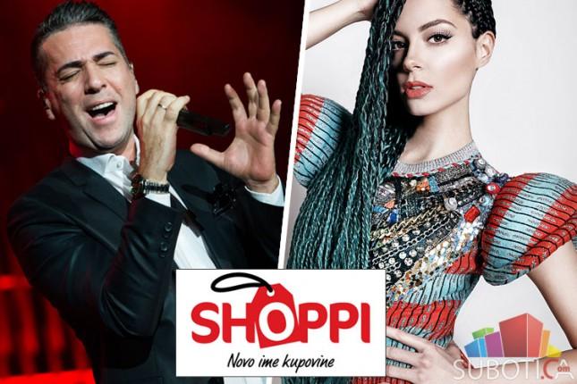 Koncerti Željka Joksimovića i Sare Jo na svečanom otvaranju Shoppi retail parka