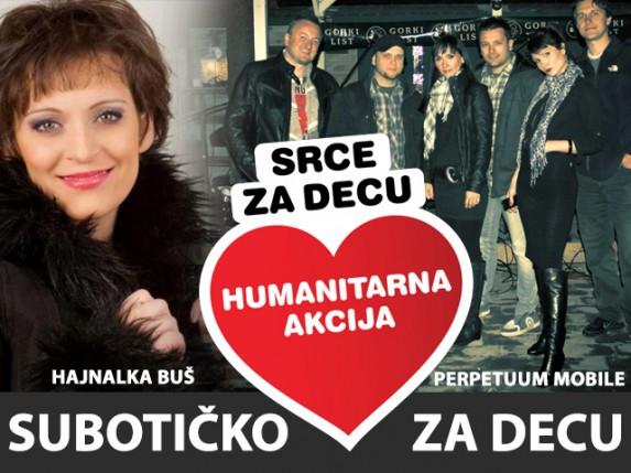 Hajnalka Buš i Perpetuum Mobile - humanitarni koncert