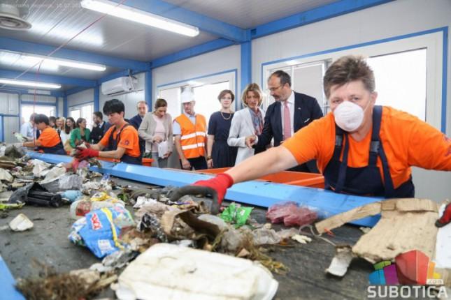 Delegacija EU obišla Regionalnu deponiju