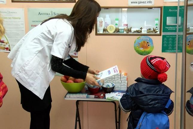 Akcija za najmlađe u Apoteci Subotica