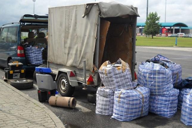 Na Horgošu otkrivena garderoba vredna 13.000 evra