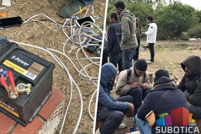 """Migranti napravili novi divlji kamp iza """"Pionira"""""""