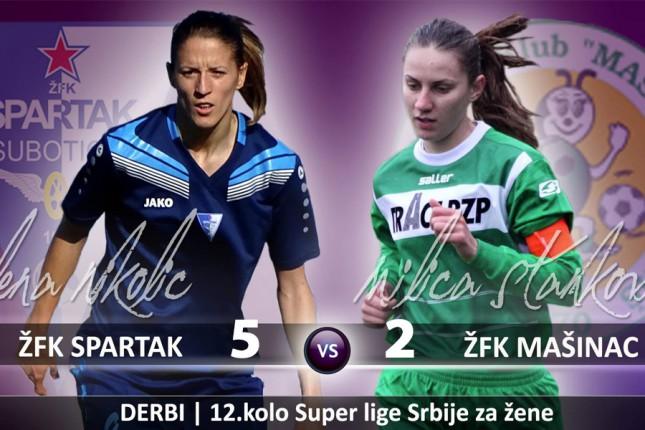 Igračice ŽFK Spartak nastavile trijumfalni niz