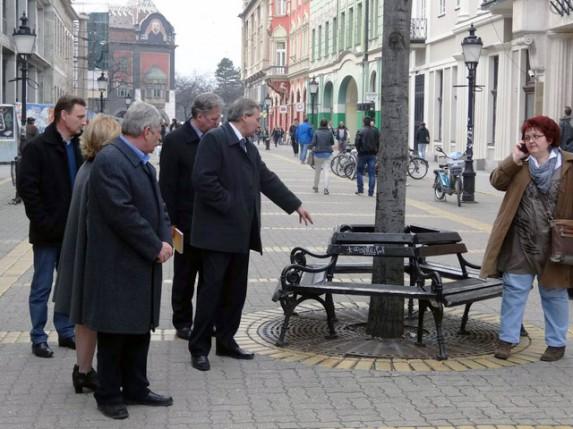Gradonačelnik i v.d. direktora Direkcije za izgradnju grada obišli centar grada