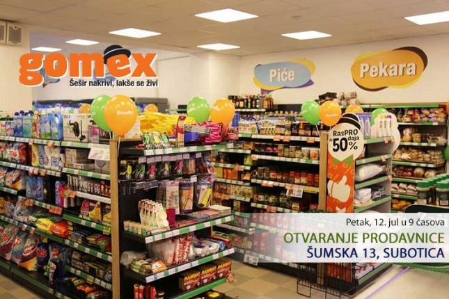 """""""Gomex"""" otvara novi objekat na Radijalcu"""