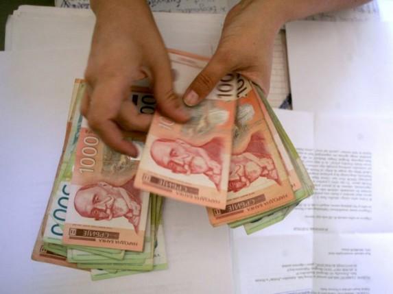 Isplata redovne i privremene novčane naknade za nezaposlene