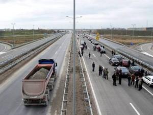 Ceo autoput do Horgoša u decembru