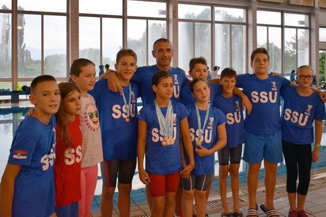 Plivanje: Spartakovih osam zlatnih medalja na Prvenstvu Srbije za pionire, Danilo Dulić najbolji pojedinac