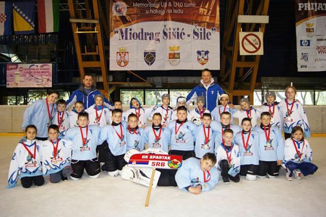 "Održan završni turnir hokejaških takmičenja - ""Šile 2015"""
