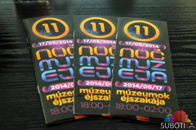 Program Noći muzeja 2014 u Subotici (7. jun)