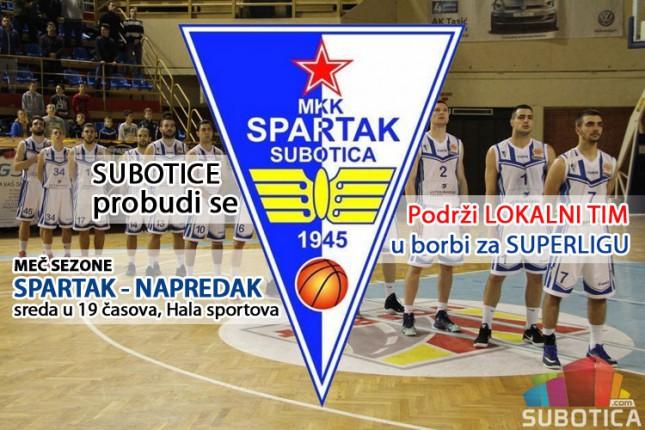 Pomozimo košarkašima Spartaka da na startu Superlige dočekaju Crvenu zvezdu